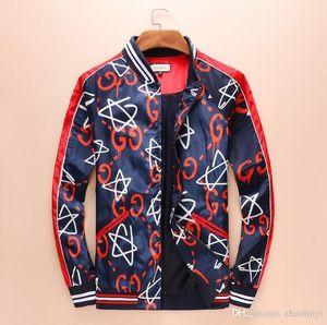 European and American men's fashion casual v-neck monogrammed jacket designer classic slim men's windbreaker - welcome to buy