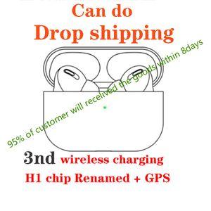 Kablosuz 3nd gen Kulaklık pk bölmeler yanlısı W1 H1 çip AP3 i12 i7 i500 i200 kulaklık Bırak nakliye soyma Bluetooth Kulaklık auto şarj