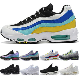 95 Designer Uomo Donna Running Shoes Neon rosso solare Orbit Throwback Future Nero Bianco Mens Trainer Athletic Sport Sneakers Vendita online