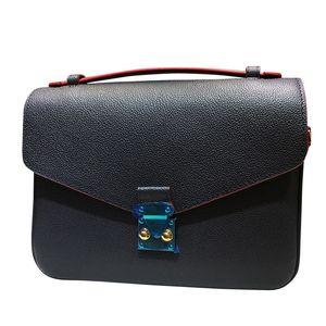 Top-Qualität Designer Handtasche geprägtes Leder Womens Bag Fashion Brand Metis Messenger Bag Designer Umhängetasche