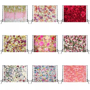3D Rose Backdrop 1.5x2.1m Wedding Rose Wall Studio Backdrop Party Photography Photo Background Cloth