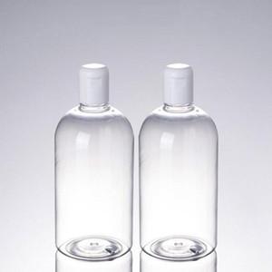 500ml di plastica vasi cosmetici contenitori toner Lozione Essence Bottle Packing detergente toner ricaricabili bottiglie attrezzo di trucco bagagli DHB619
