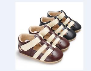 Yaz Çocuk Bebek Boys Bebek PU Deri Hollow Out Bebek Moda Bebek İlk Walker'lar Ayakkabı