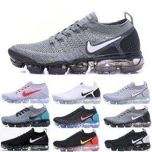 Nike Vapormax flyknit air max 2019 Fly 2,0 Shoes Sapata Running Mango carmesim pulso seja verdadeiro das mulheres dos homens Designers Esportes calçados casuais Tamanho 36-45 SDC6