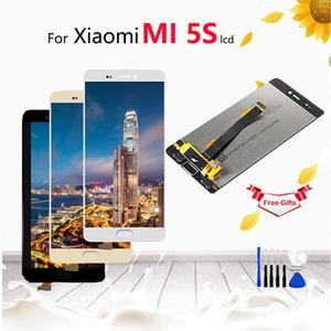 Xiaomi Mi5S için LCD ekran + Dokunmatik Ekran Digitizer Meclisi Yedek Premium Xiaomi Mi 5 S 5.15 inç + göndermek aracı