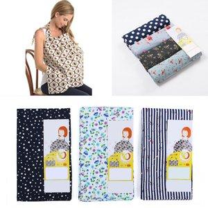 Baby Stillen Krankenpflege-Abdeckungen für schwangere Frauen Schürze Stillen weicher Baumwolle Nursing Poncho Abdeckung Schal Tuch für Mütter