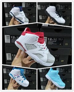 2019 Free shipping Children's 6 VI Basketball Shoes Kids 6s Sports Boys Girls Youths Baby outdoor Sneakers