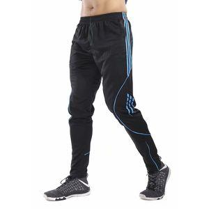 Calcio Formazione Pants Ciclismo Jogging Pantaloni Sport Fitness Palestra Abbigliamento da calcio per allenamento in esecuzione Tuta Uomo Pantaloni