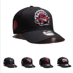 NBA de diseño caliente gorras hombres Primavera Algodón Béisbol Snapback Sombrero Gorra de verano Hip Hop Gorra ajustada Sombreros Para Hombre Mujeres Molienda Multicolor