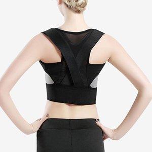 Adulto Adolescente respirável Correção Belt Unisex Voltar Posture Corrector Voltar Brace superior Postura correção Spine Suporte Belt BC BH1027