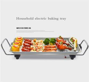 Horno de barbacoa sin humo máquina de hogar barbacoa eléctrica olla coreana shabu-shabu olla integrado peces multifuncional asar