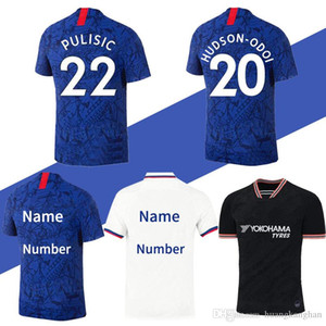 Thailand PULISIC KANTE ABRAHAM LAMPARD ODOI WILLAN soccer jersey 2019 2020 MOUNT Camiseta de football kits shirt 19 20 MEN SETS