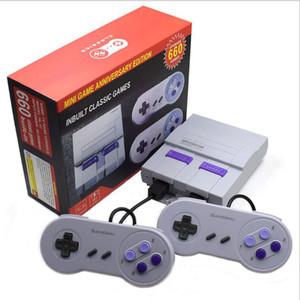 Super Clássico Video Game Console Pode armazenar 660 Games Mini Retro NES de 8 bits Familiares sistema portátil do jogo os jogadores com dupla Gamepad