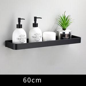 Bathroom Shelf Bath Shower Shelf Aluminum Black Bathroom Corner Black Wall Mounted Aluminum Holder Storage Kitchen