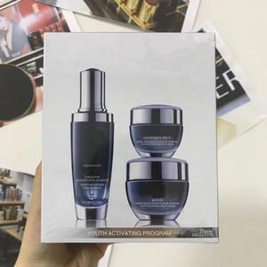 Nuovi arrivi Black bottles 15ml crema per gli occhi + 50ml crema per il viso + 50 ml crema per la notte Advanced per linee Youth Activating Skin Care Set spedizione gratuita
