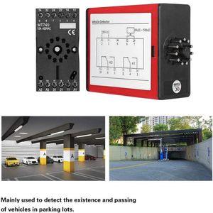 Veículo Detector Single Channel indutivo veículo Circuito Detector Sensor exterior Enterrado Driveway Portão Movimento