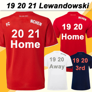 19 20 21 RIBERY Lewandowski para hombre de fútbol jerseys Bayern MULLER HERNANDEZ PAVARD ROBBEN TOLISSO BOATENG casa Fuera 120ª camisa Traje de fútbol