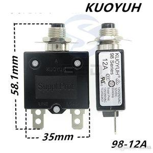 Taiwan KUOYUH 98 Série-12A Surintensité Protector surcharge Commutateur