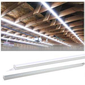 T5 LED Tube Linkable Integrated Single Крепеж, светодиодные трубки, двусторонняя связь, люминесцентные лампы светильника Замена