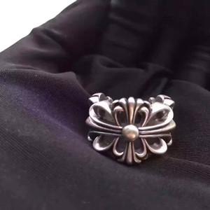 anéis transversais Moda Flores campeonato Bague anillos para homens e mulheres de jóias Partido do vintage dos amantes do hip hop