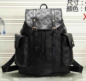 Горячая распродажа мужчины женщины дизайнеры рюкзаки мода большой емкости дорожные сумки портфели классический стиль кожа качество
