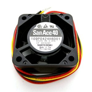 New Original SANYO 109P0424H6D01 40*40*20MM DC24V 0.07A Alarm Signal for FANUC system cooling fan