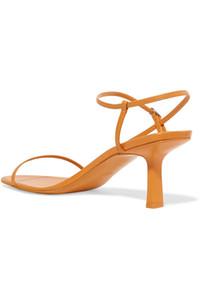 Luxus Frauen hochhackige Sandalen Stil begehrt Bare Sandale Dame Schuhe Topmodel Laufsteg Schnalle Gummilaufsohle mit T-Riemen Schuhe mit hohen Absätzen