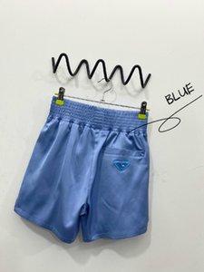 20ss calças mulheres designer de luxo esportes executando praia calças curtas lado confortável de alta qualidade da manta elástica cós calças de yoga