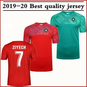 2020 المغرب الأوروبي لكرة القدم بالقميص 19 20 مايوه دي القدم ZIYECH BOUTAIB Camiseta دي فوتبول بوصوفة EL AHMADI قميص كرة القدم