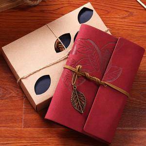 A6 Pu Skin Cover Sket Drachbook Diary For Drawing Gravely Notebook Memo Pad Office School Supplies هدية عالية الجودة