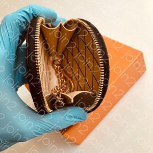 Portafoglio MICRO BOITE CHAPEAU, Portafoglio mini portafoglio donna moda compatto con gancio per carte di credito in contanti con contenitore per sacchetti di polvere M63597