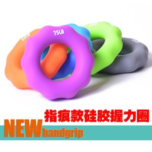 Silicone Finger Gripper Hand Resistance Band Gripping Ring Wrist Stretcher Finger Forearm Trainer Pow Exercise Carpal Expander