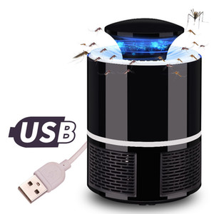 USB Electronics Mosquito Killer Lamp Pest Control Electric Mosquito Killer Fly Trap LED Light Lamp Bug Insect Repeller