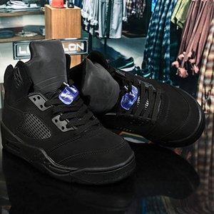 2020 Mens 5 5s Fire black Basketball Shoes Bred Laney Blue White Fresh Prince Grape International Flight Men Sport Sneaker Size 40-47 Sale