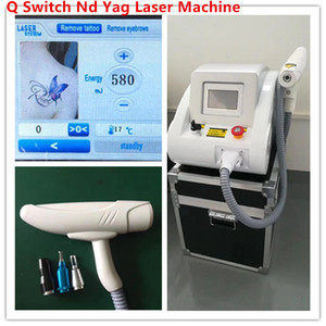 2000mj 4,3-Zoll-Touch-Screen-Q-Switch Nd-Yag Laser Tattoo entfernen Pigment Spot-Akne Entfernung tragbares Laser-Tattoo Entfernung Maschine