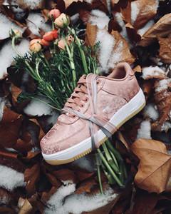 2020Fashion fora do ar de luxo 1 mulheres dos homens saltos de grife vestir sapatos para homens formadores de vintage estrela branca Rose Gold sneakers tamanho mocassins 5-12