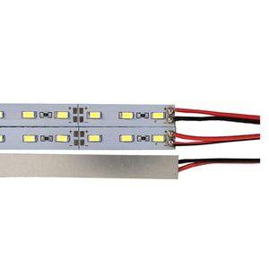Frete grátis 1m Atacado Fábrica de DC 12V 72 Led SMD 5730 5630 LED dura rígida Led Faixa de Bar Luz