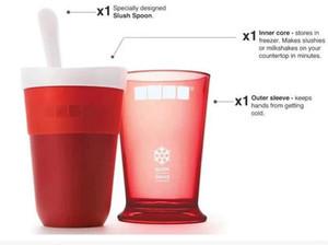 Ice Cream Slush Shake Maker Slushy Milkshake Smoothie Cup Kids Creative New Fruits Juice Cup Fruits Sand Cups Tools GGA3410-1