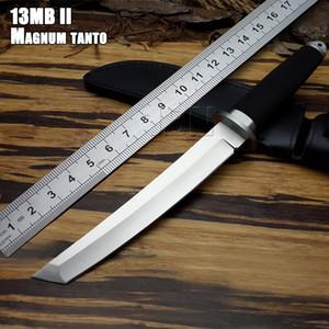 Малый SAN MAi Samurai выживания Неподвижные ножи, SRK 13RTK 440c лезвия Резиновые ручки Охотничий нож бесплатно Холодное инструмент сталь Открытый прямой нож