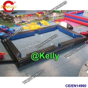 mesa de billar inflable personalizada mesa de billar de aire billar inflable juegos de carnaval piscinas de billar inflable de fútbol inflable