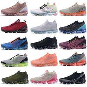 Nike Air Max Vapormax Shoes 2019 Mens New Womens Moc 3 3.0 Fly vapores Running Shoes Athletic Maxes Knit Sports Sneakers Zapatos