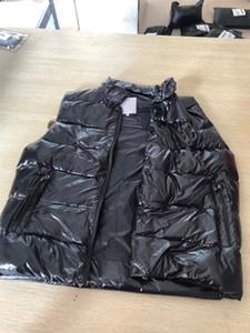 Erkekler Tasarımcı Ceket Yelekler Aşağı Ceket Kapüşonlu Aydınlık Su Geçirmez Erkekler Kadınlar Için Marka Giyim Rüzgarlık Lüks Ceket Kalın Yelekler Ceket