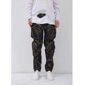 Corredores Pants Men Streetwear Hip Hop Sweatpants Masculino INS Todos Jogo soltos Terry Casual Calças Mulheres Homens