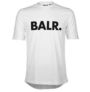 2020, un balr maglietta tops balr MenWomen t-shirt 100% cotone Soccer football sportivo magliette da ginnastica marca di abbigliamento BALR Eccellente