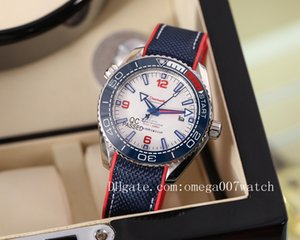 2020 high quality james bond 007 watches planet ocean men sport Wristwatch aqua terra sea master watches seamaster OMEGA mens watch D4111