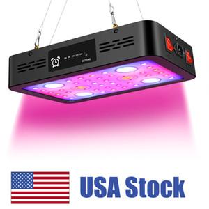 1200W LED 전체 스펙트럼 듀얼 칩 듀얼와 빛 타이밍 기능을 성장 실내 식물 성장을위한 전등 설비를 성장 전환