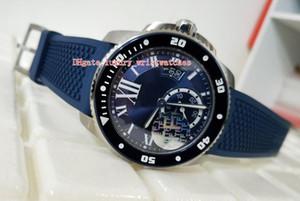 Высококачественные наручные часы TF Maker 42mm Calibre DE WSCA0010S ремешок из натурального каучука CAL.2824 механизм механические автоматические мужские часы Часы