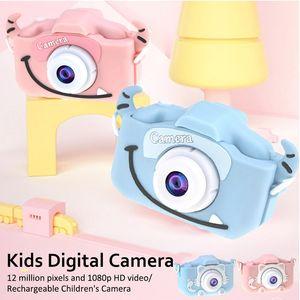x8 2,0 polegadas tela da câmera Crianças Camera Mini Digital 12MP Foto Crianças com 600 mAh Polymer Lithium Battery Brinquedos presente