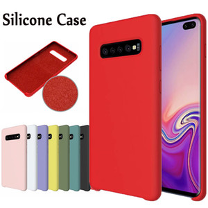 Official Silicone Case For Samsung Galaxy S20 Ultra S10 Plus S9 S8 Note 10 Plus 9 8 A70 A50S A50 A40 A30S A30 A20 A20S A10S Original Case
