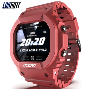 LOKMAT OCEAN Smart Watch Touch Screen Bluetooth Push Message Telecomand Control Waterof Outdoor